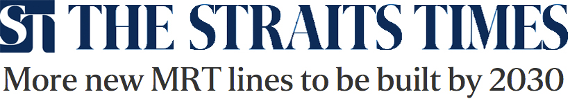 The Straits Times 2013 - More new MRT lines to be built by 2030