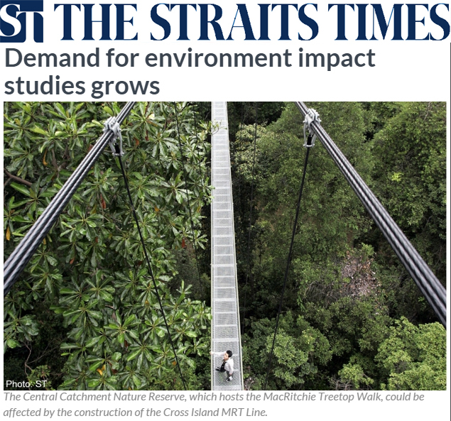 Asiaone 2014 - Demand for environment impact studies grows