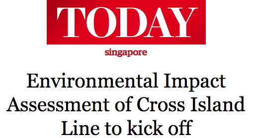 Today 2014 - Environmental Impact Assessment of Cross Island Line to kick off