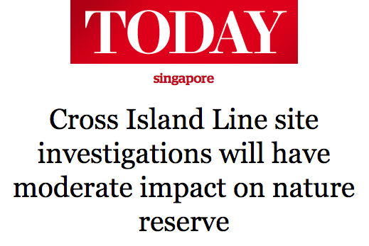 Today 2016 - Cross Island Line site investigations will have moderate impact on nature reserve