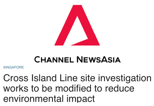 Today 2016 - Cross Island Line site investigation works to be modified to reduce environmental impact