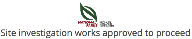 NPARKS - Site investigation works approved to proceed
