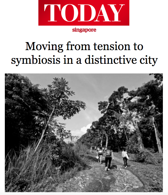 TODAY News 2016 - Moving from tension to symbiosis in a distinctive city